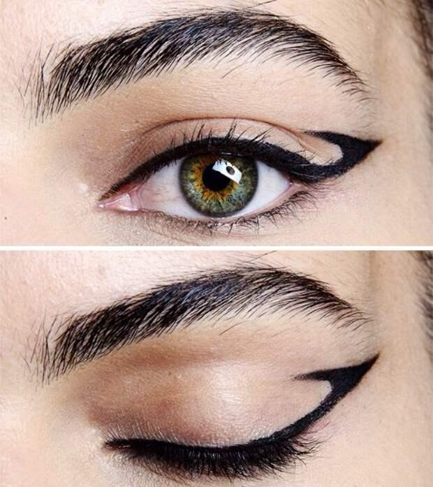Креативные стрелки на глазах