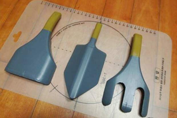 Садовые инструменты из пластиковых бутылок (4) (400x267, 117Kb)
