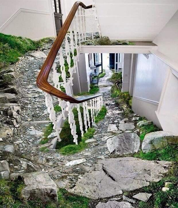 Креативнейшая лестница