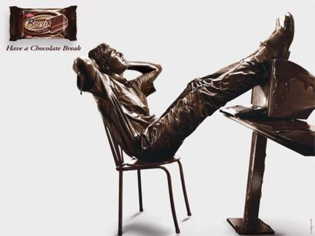 Break tout Choco: искусство шоколада