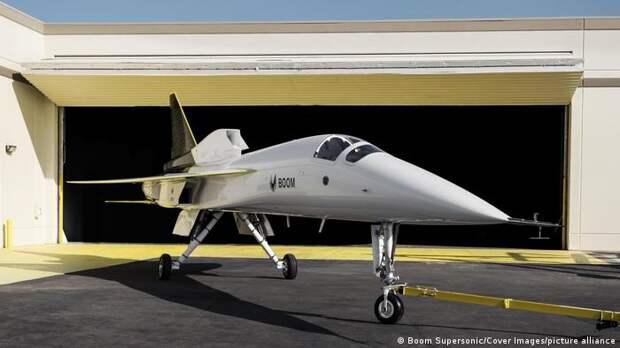 Supersonic XB-1 должен стать первым сверхзвуковым самолетом, построенным частной фирмой