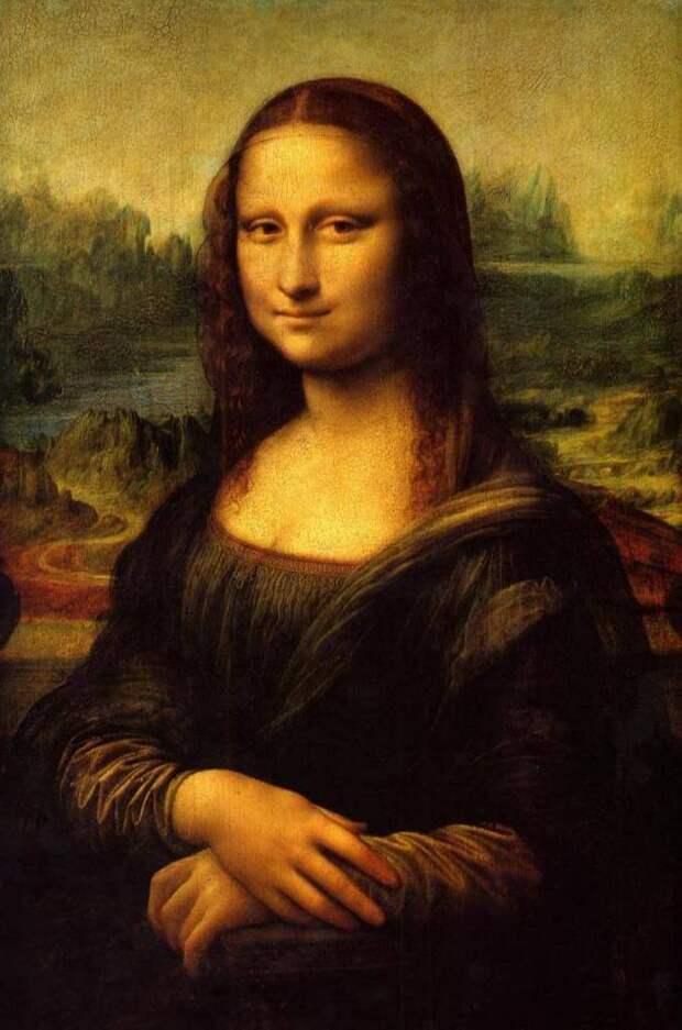 Портрет Джоконда (Мона Лиза) - Леонардо да Винчи (1504)