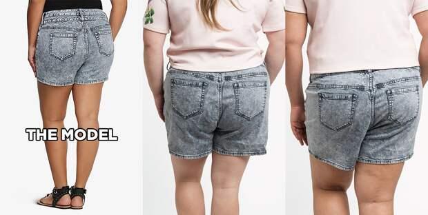 Размер 20, вид сзади интернет, полные женщины, шопинг