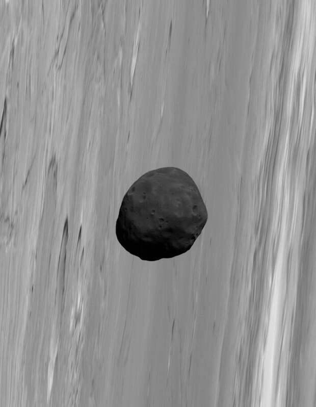 Марсианский спутник Фобос, запечатленный орбитальным аппаратом Mars Express