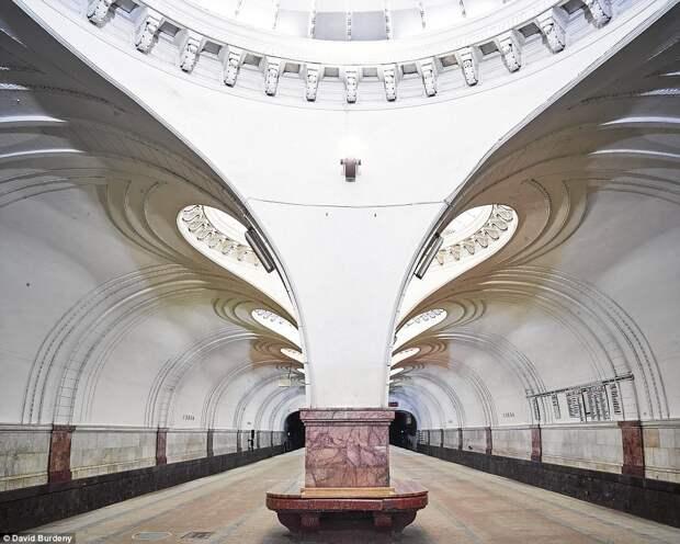 Самые красивые станции метро Москвы