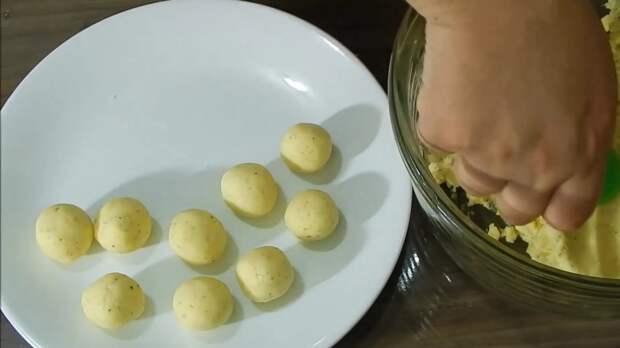 пончики с сыром
