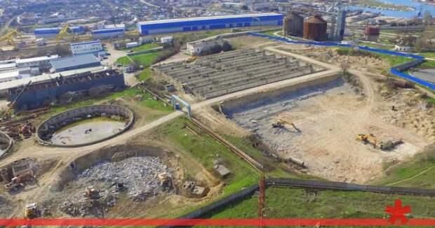 Строительство очистных в Севастополе возобновят в конце 2019 года