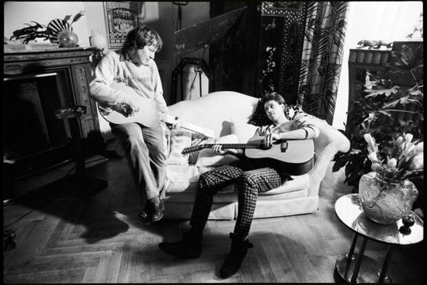 Фотографии из-за кулис фильма «Pink Floyd — The Wall» 1982 года