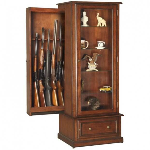 Как прятать оружие в доме