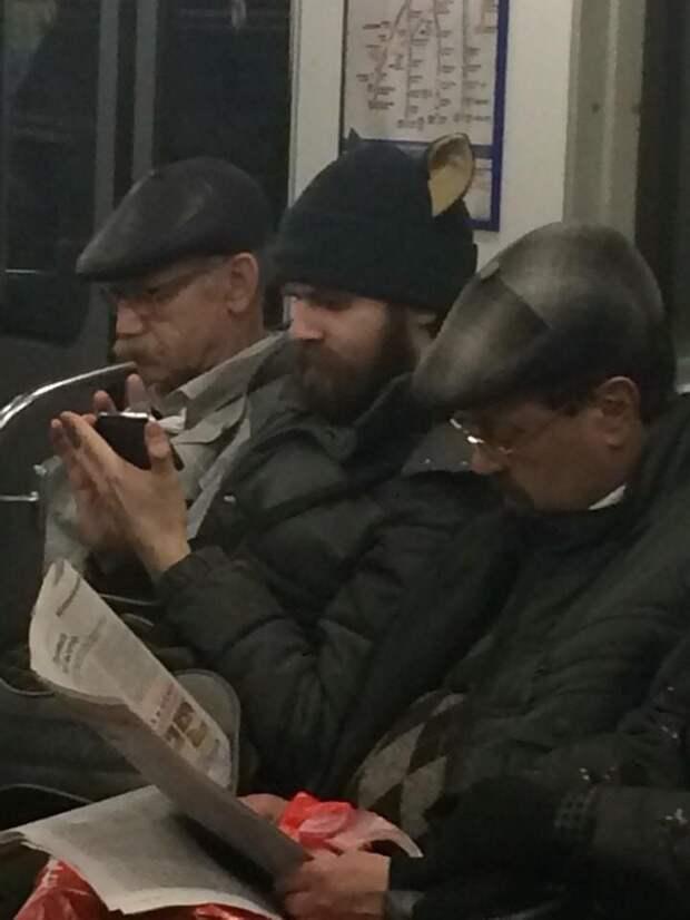 Ушастый в метро