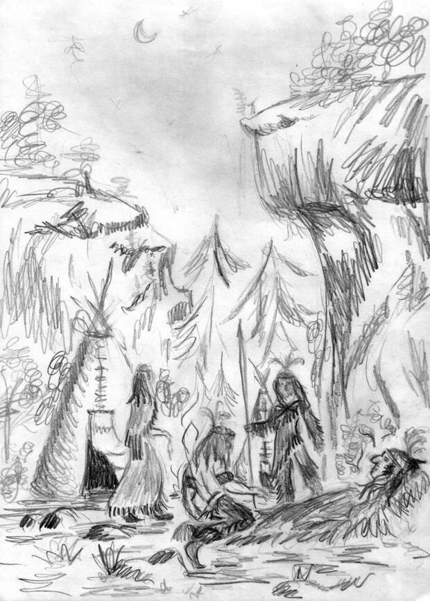 Предсказание индейца