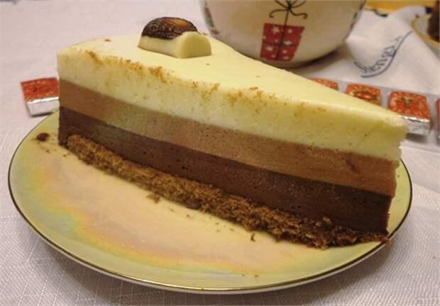 """Самый удачный рецепт торта """" Три шоколада"""""""