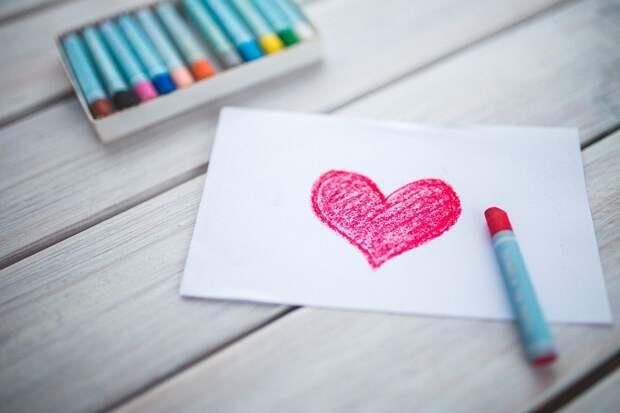 Сердце, Карты, Пастели, Фигура, День Святого Валентина