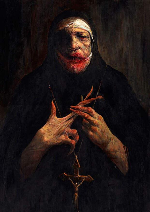Жуткие картины Дэйва Кендалла