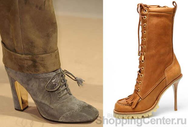 Модная обувь 2015: ботинки и ботильоны. Женская обувь