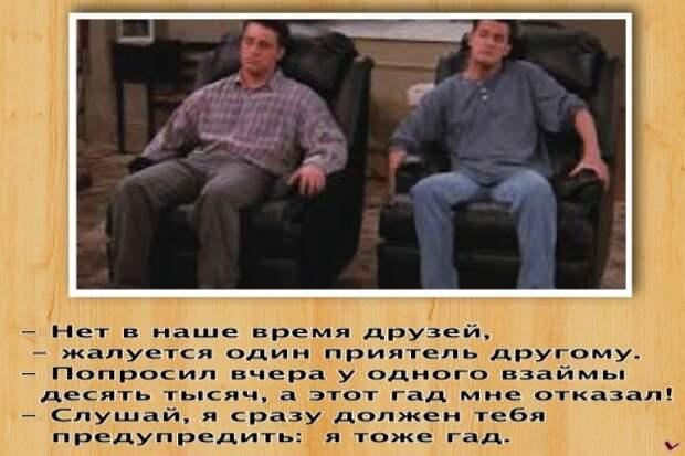 Приходит мужик в зоомагазин:  - Есть у вас что-нибудь чтоб умело разговаривать?...