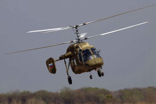 Вертолет Ка-226Т с французскими двигателями сертифицирован в России