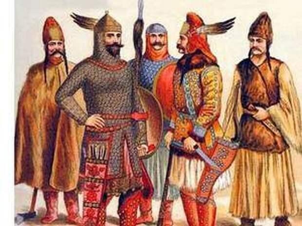Мадьярские воины