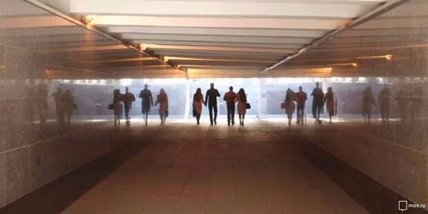 Подземный переход на Новой Башиловке будет  приспособлен для инвалидов