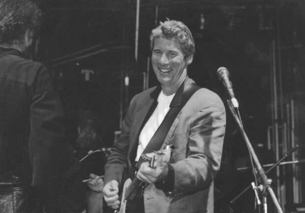 Ричард Гир в Москве в 1995 году.