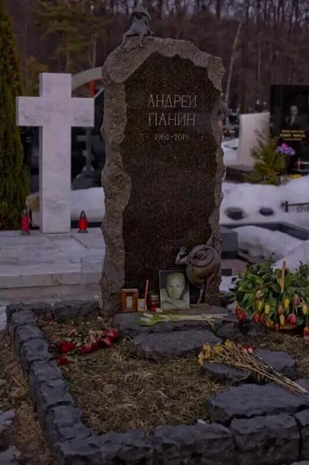 Андрей Панин.Как сегодня выглядит место последнего упокоения актера.8 лет спустя.