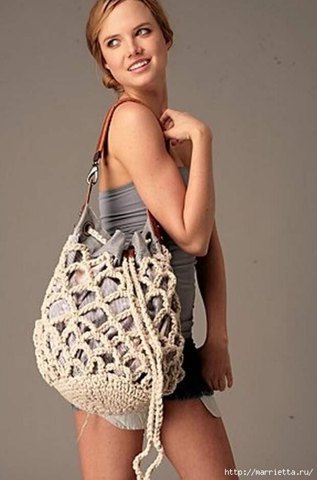 Веревочная идея для летней сумочки (2) (431x653, 127Kb)