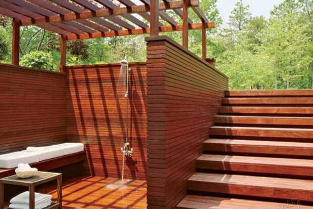 Современный летний душ - 2