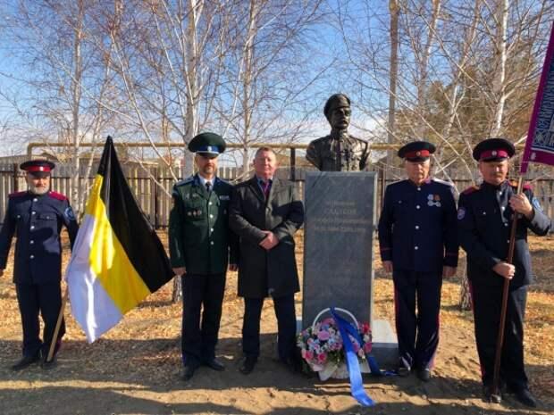 Открытие памятника Тимофею Сладкову