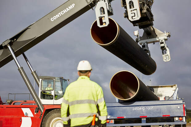 «Газпром» ответил на штраф Польши за «Северный поток-2»