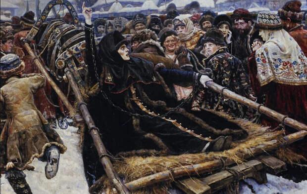 Боярыня Морозова - история мятежной раскольницы