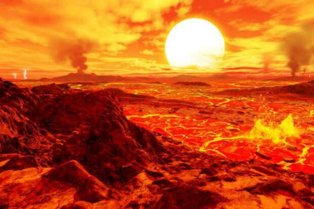 Венера: дьявольский мир на орбите Солнца
