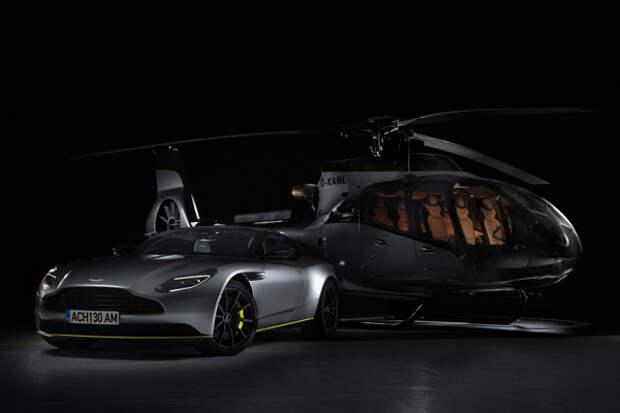 Вертолет Aston Martin Airbus