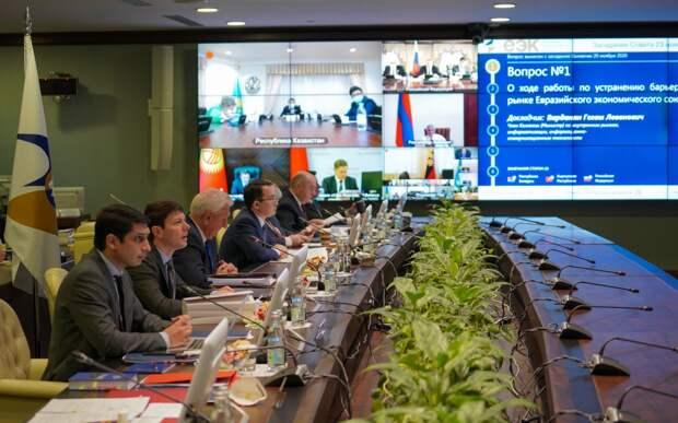 Встреча глав стран ЕАЭС