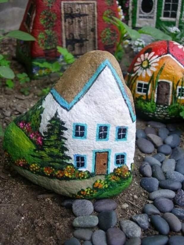 домики из камней3