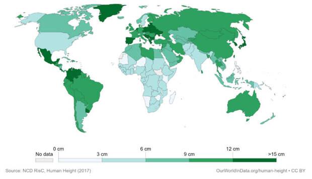 Ученые определили страны ссамыми высокими иминиатюрными девушками