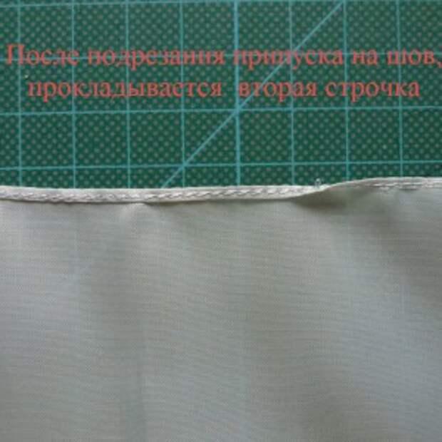 московский шов - как шить