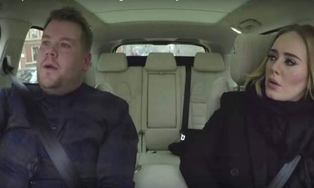 Видео с Адель, которая поет в машине, взорвало Сеть