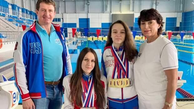Оренбурженки завоевали 9 медалей наЧемпионате России поплаванию среди лиц сПОДА
