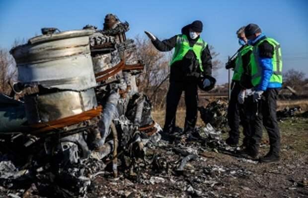 На месте крушения Boeing 777 в Донецкой области, 6 ноября 2014 года