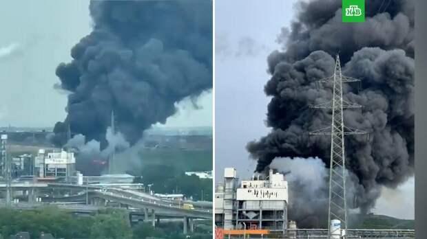 Мощный взрыв прогремел на химзаводе в Германии