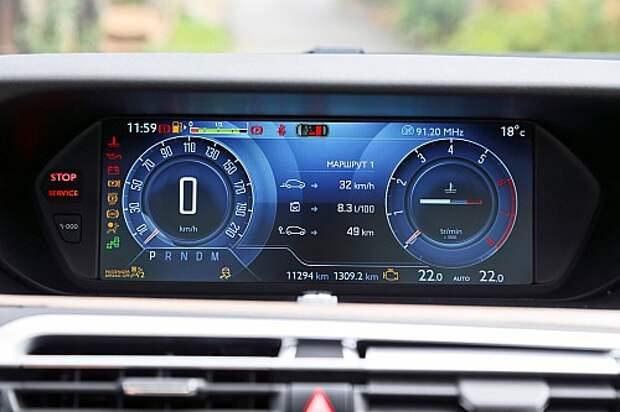 Измеряем в пассажирах компактвэн Citroen C4 Picasso