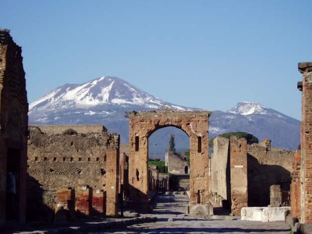 Помпеи, Италия.