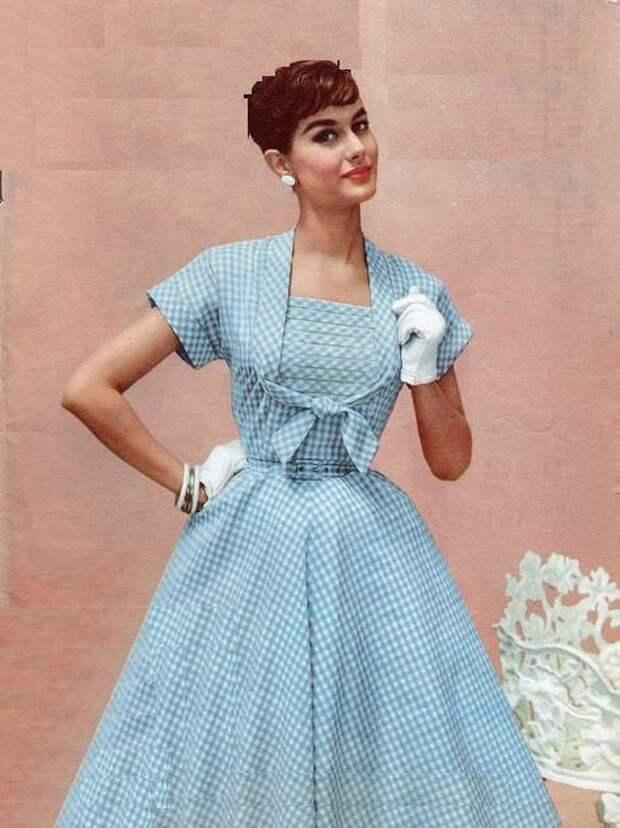 Детали из моды 1950-х (трафик)