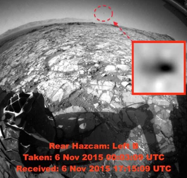 На фото с Марса заметили НЛО