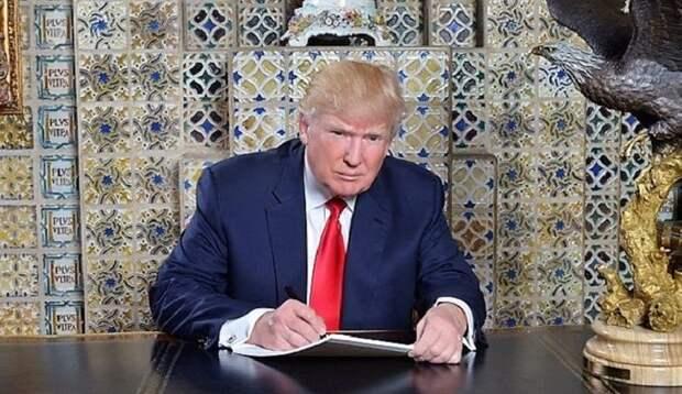 Трампа попытались отравить рицином