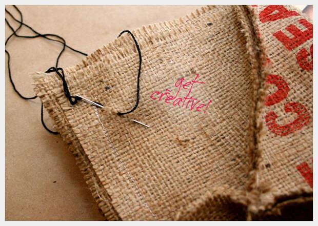 сумка из мешковины своими руками
