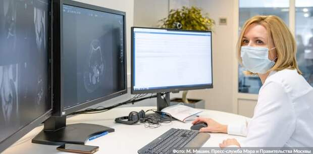 Собянин расширил применение «компьютерного зрения» в диагностике болезней.Фото: М. Мишин mos.ru