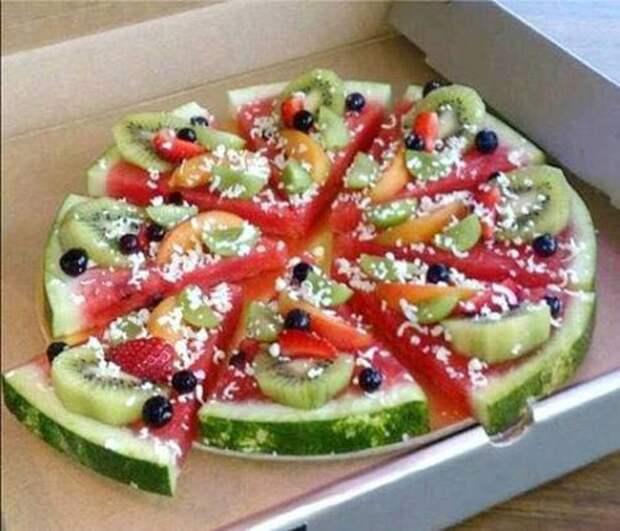 Пицца для тех кто на диете