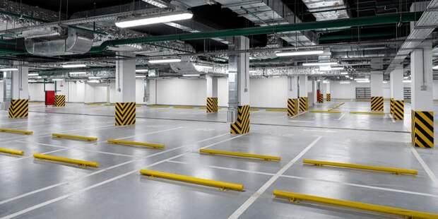 Город продаст на торгах 10 машино-мест на подземной парковке на Цветном бульваре