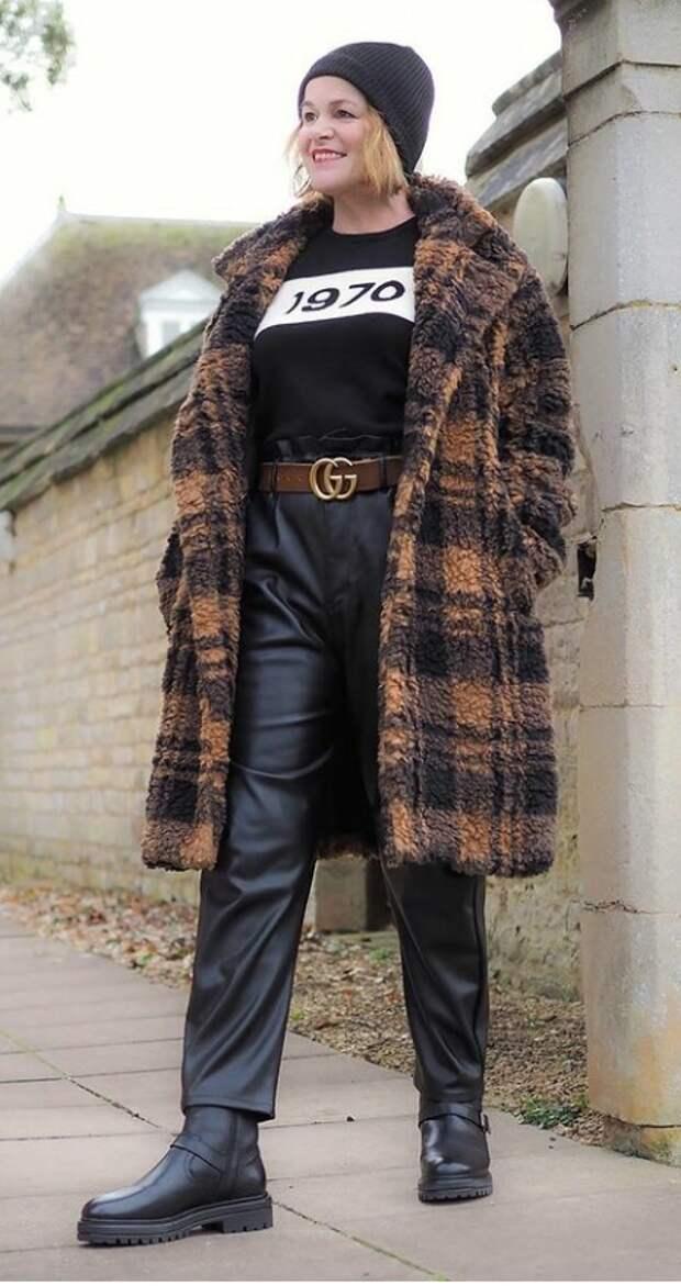Как красиво носить оверсайз и тренды, женщинам без модельных параметров после 50 лет